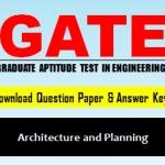 GATE AR Question Paper