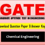 Download GATE CH Question Paper
