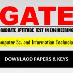 Download GATE CS Answer Keys
