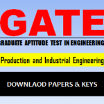 Download GATE PI Question Paper