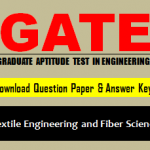Download GATE TF Question Paper