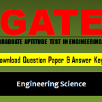 Download GATE XE Question Paper