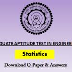 GATE Statistics