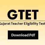 GTET Model Question Paper